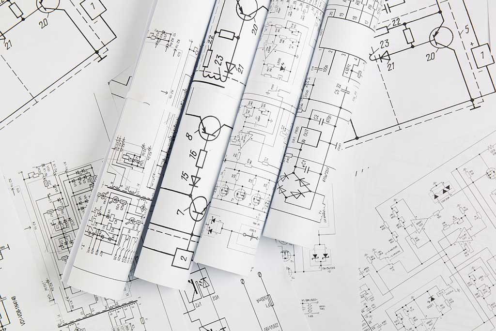printed-engineering-drawings-electrical-circuits